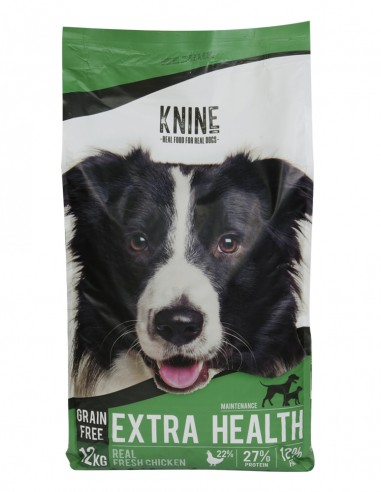 SACO KNINE EXTRA HEALTH- 12 kgs. FRONTAL