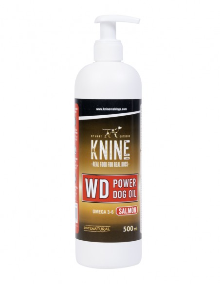 KNINE WD POWER DOG OIL 500 ML FRONTAL